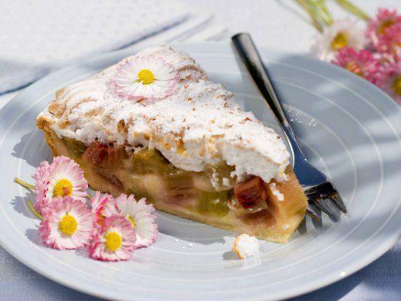 Rhabarberbaiserkuchen Rezept  Eat Smarter