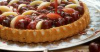 Kirsch-Pfirsich-Kuchen Rezept | EAT SMARTER