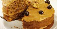 Walnuss-Kaffeecreme-Kuchen Rezept | EAT SMARTER