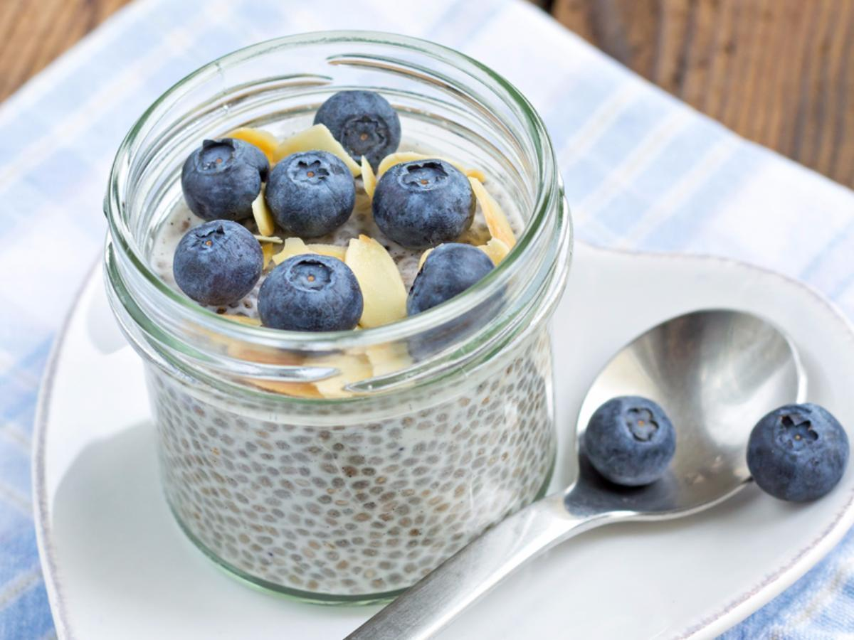 Blueberry Almond Chia Pudding Recipe And Nutrition Eat