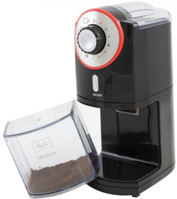Melitta Molino Electric Coffee Grinder Black 100w Genuine