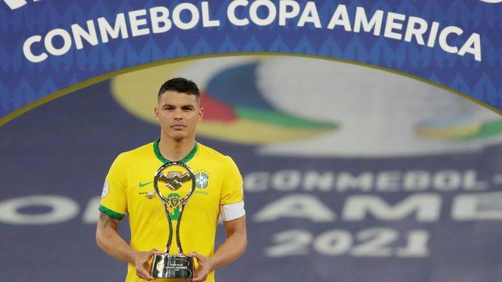 Brasil no podrá contar con Thiago Silva. (EFE)
