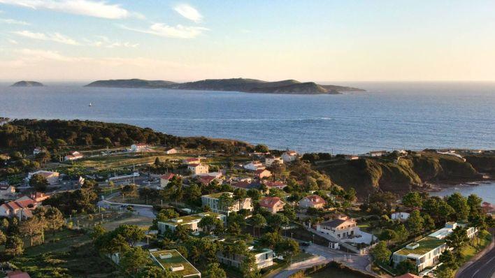 Vistas al entorno de Foxos y la ría de Pontevedra. (Cortesía)