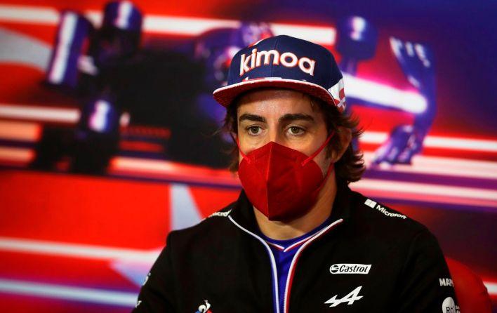 Alonso tenía preparada una emboscada a los medios en la rueda de prensa del GP de Turquía