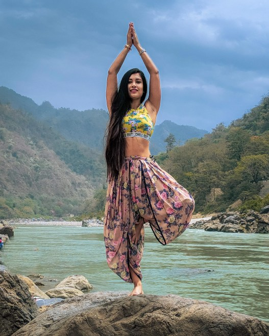 Radhika Bose is making asanas more glam than ever | International Day of  Yoga | Latest News- Edexlive