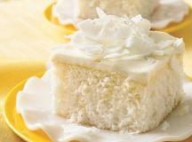Coconut Cake with White Chocolate Frosting recipe from ...