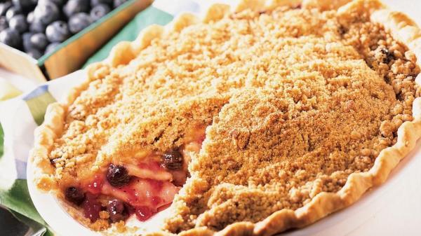 AppleBlueberry Pie recipe from Pillsburycom