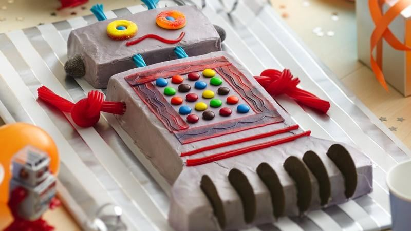 Robot Cake Recipe From Betty Crocker