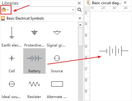 Automotive Electrical Wiring Diagram Symbols / Home