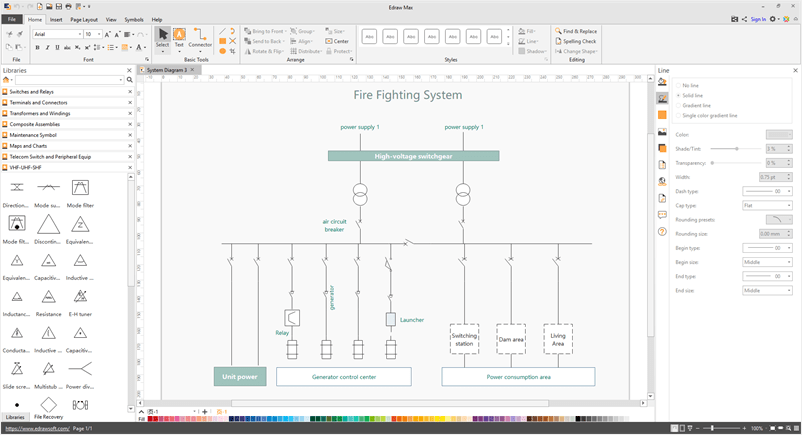 Systems Diagram, Free Examples and Software Download