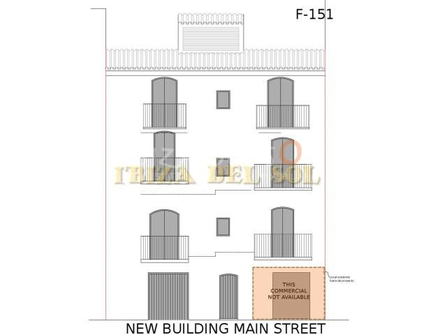 Edificio en venta en Ibiza LA MARINA para 6 apartamentos