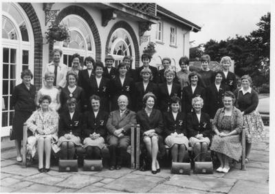 Photo: New Zealand Women's Team, Bourneville, c.1966; 2018.5.38