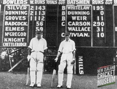 Photo: WN Carson and PE Whitelaw, 1937; 1937; DC.14.01.05