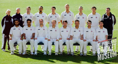 The team photo of the 2004-05 Auckland side that w...
