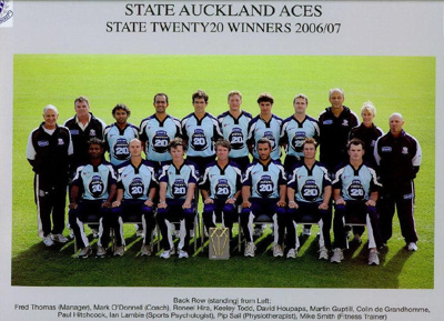 The Auckland Aces defeated the Otago Volts in 2015...