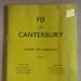 Programme: Fiji v Canterbury, 1962; Canterbury Cricket Association; 1962; 2015.11.3