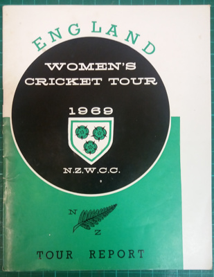 Tour Report: England Women in New Zealand 1969; New Zealand Womens' Cricket Council; C.1969; 2018.8.10