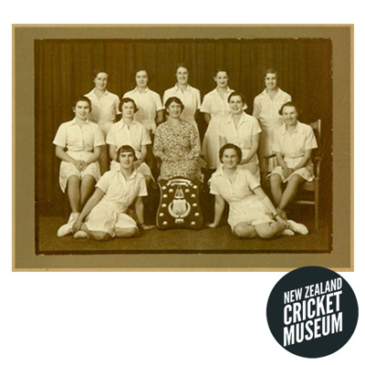 Photograph of the 1936 Wellington Women's cricket ...