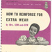How to reinforce for extra wear pamphlet; Fosh & Cross Ltd.; Board of Trade