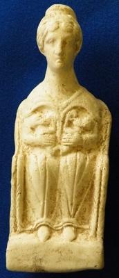 Dea Nutrix figurine; AD 150-200; Toulon-sur-Allier (Allier, France); 1988.4.109