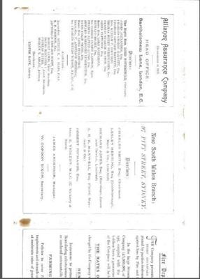 Prospectus of Alliance Assurance Company; Alliance