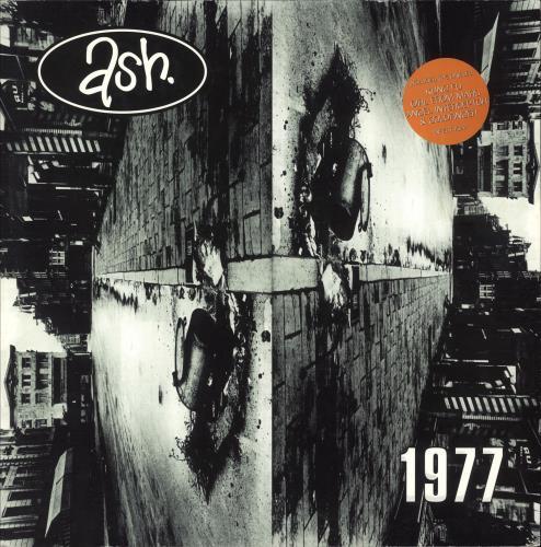 Ash 1977 - Nineteen Seventy Seven - Stickered Sleeve + Extras vinyl LP album (LP record) UK A-SLPNI747920