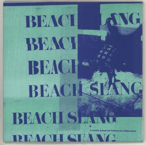 Beach Slang A Loud Bash of Teenage Feelings - Splatter vinyl vinyl LP album (LP record) UK 0F7LPAL735231