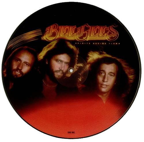 Bee Gees Spirits Having Flown US picture disc LP vinyl