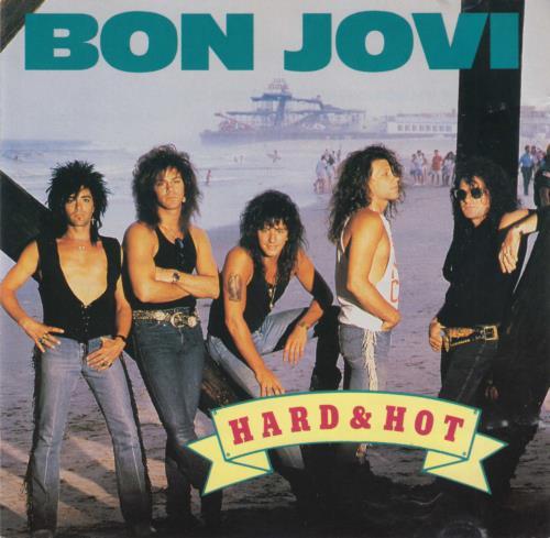 Bon Jovi Hard & Hot CD album (CDLP) Australian BONCDHA00291
