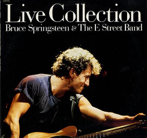 """Bruce Springsteen Live Collection + Poster 12"""" vinyl single (12 inch record / Maxi-single) Japanese SPR12LI203763"""
