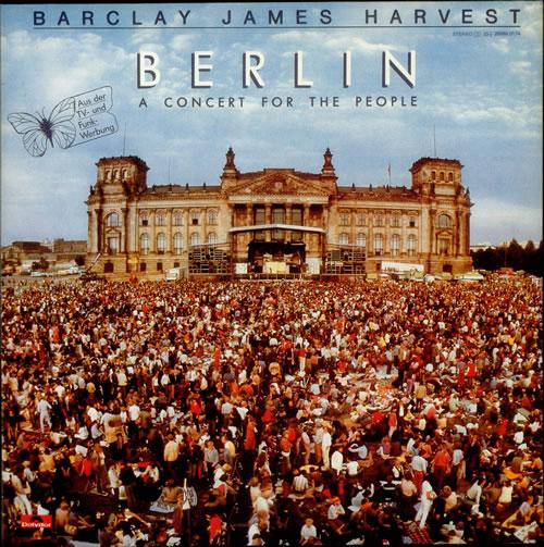 Barclay James Harvest Berlin - A Concert For The People Japanese Promo vinyl LP album (LP record) (241669)