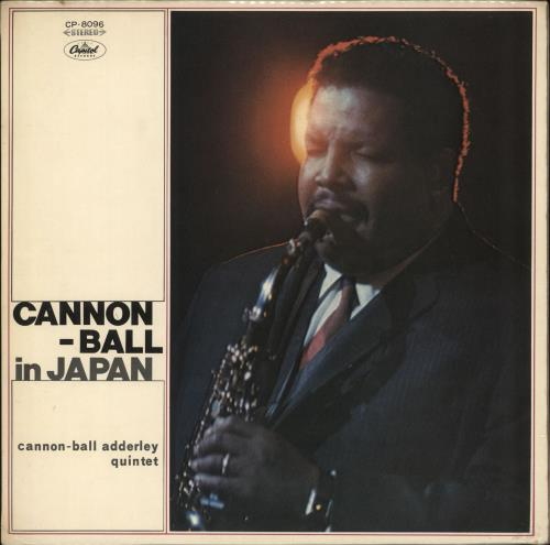 Cannonball Adderley Cannonball In Japan - Red Vinyl vinyl LP album (LP record) Japanese ERLLPCA365569