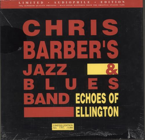 Chris Barber Echoes Of Ellington - 180gm Vinyl Box Set German CHBVXEC712914