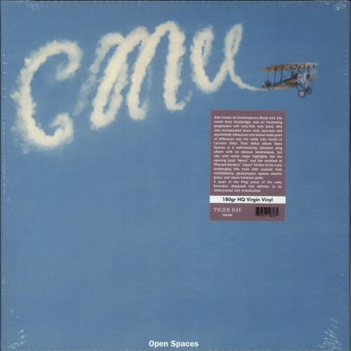 CMU Open Spaces - 180gm Vinyl - Sealed vinyl LP album (LP record) UK QM1LPOP734421