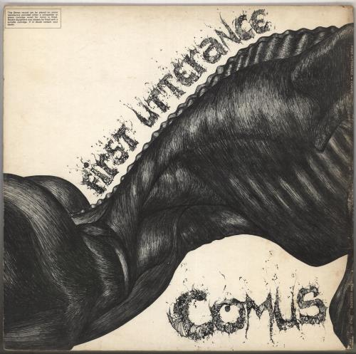 Comus First Utterance - VG vinyl LP album (LP record) UK C.ULPFI579324