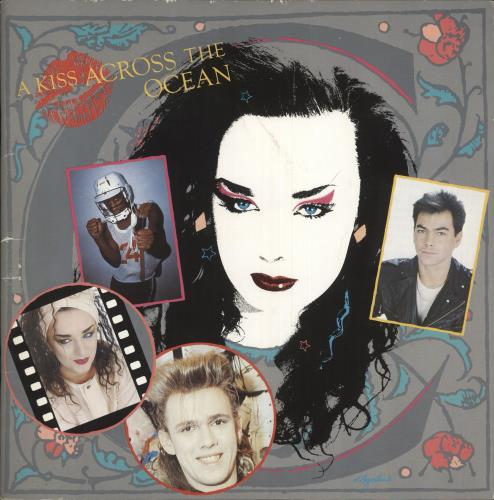 Culture Club A Kiss Across The Ocean tour programme Japanese CULTRAK234302