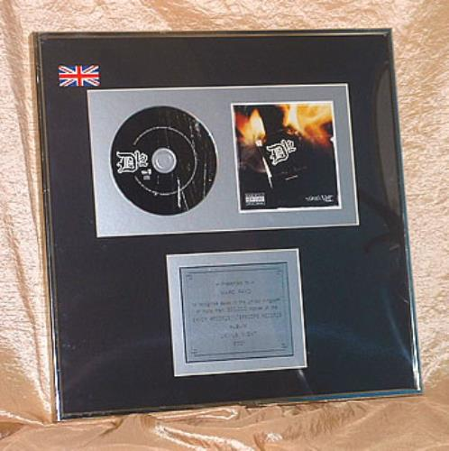 D12 Devil's Night featuring Eminem in-house award disc UK D12AIDE203573