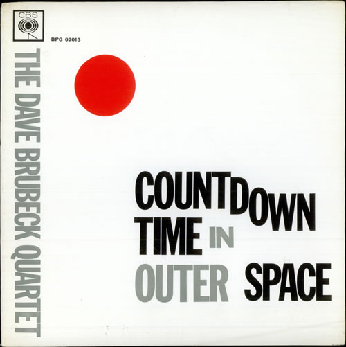 Dave Brubeck Countdown - Time In Outer Space vinyl LP album (LP record) UK DBRLPCO507774