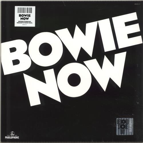 David Bowie Bowie Now - RSD18 - White Vinyl - Sealed vinyl LP album (LP record) UK BOWLPBO694815