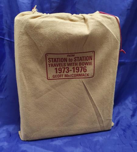 David Bowie From Station To Station - Collector's Edition - Geoff book UK BOWBKFR719152