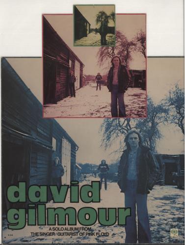 David Gilmour David Gilmour - Instore Display Mobile display US DGLDIDA733987