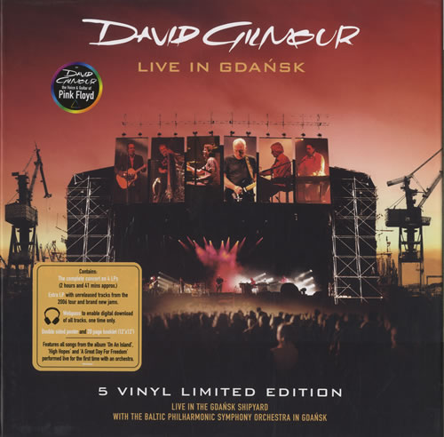 David Gilmour Live In Gdansk Vinyl Box Set UK DGLVXLI463537