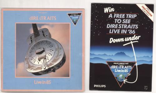 Dire Straits Live in 85 tour programme UK DIRTRLI723845