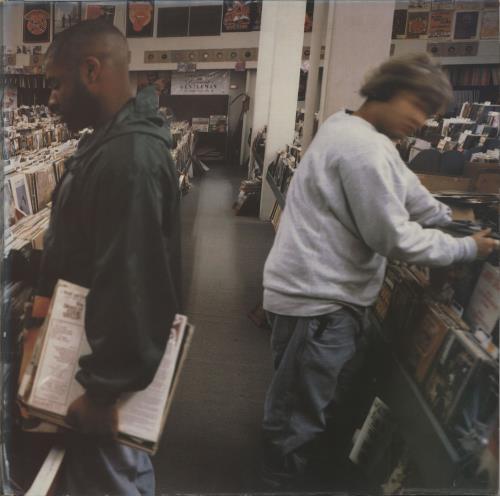 DJ Shadow Endtroducing - EX 2-LP vinyl record set (Double Album) UK D.S2LEN657180