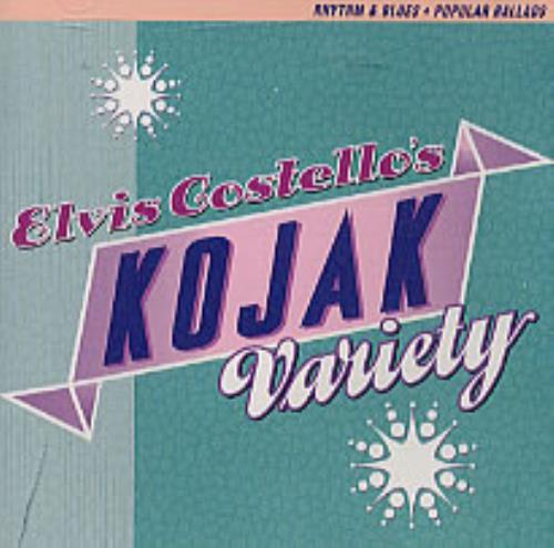 Elvis Costello Kojak Variety + Congratulations Certificate US CD ...