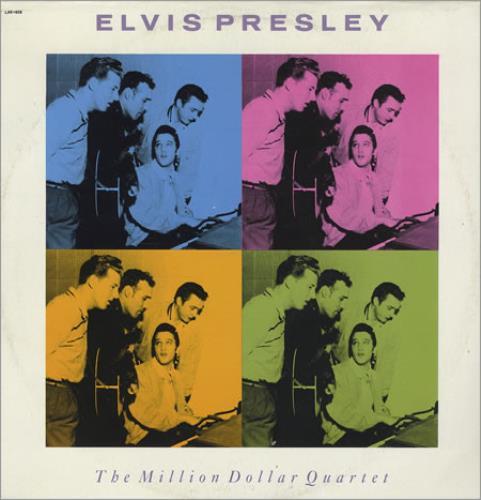 Image result for million dollar quartet LP