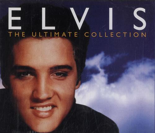 Elvis Presley The Ultimate Collection UK 4 CD Album Set