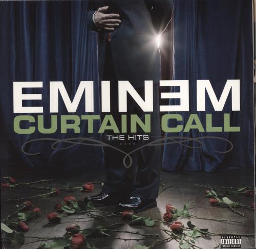 Captivating Eminem Curtain Call The Hits US 2 LP Vinyl Record Set Double