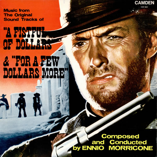 Ennio Morricone A Fistful Of Dollars / For A Few Dollars More vinyl LP album (LP record) UK ENMLPAF461758