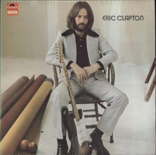 Eric Clapton Eric Clapton - 1st - EX vinyl LP album (LP record) UK CLPLPER645276